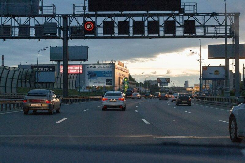 Третье транспортное кольцо, Москва
