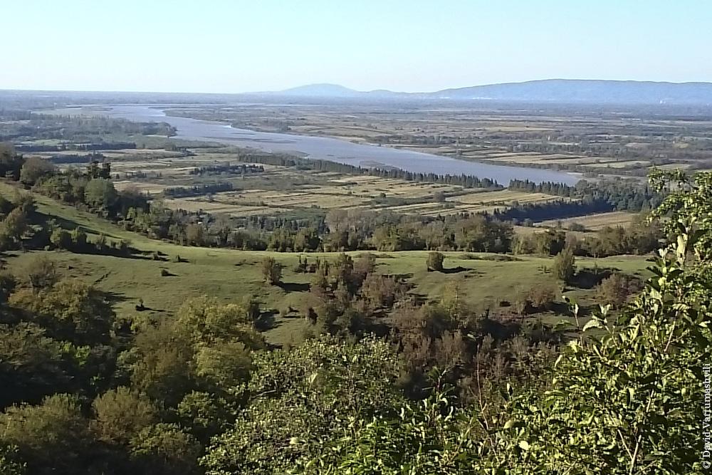 Грузия, долина Риони