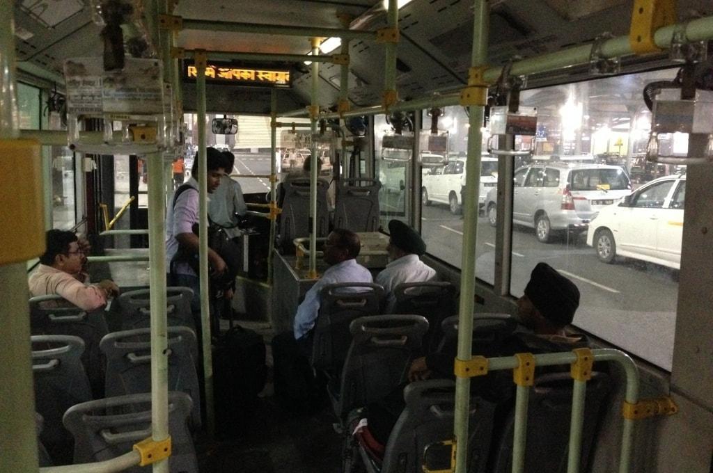Автобус до терминала местных авиалиний