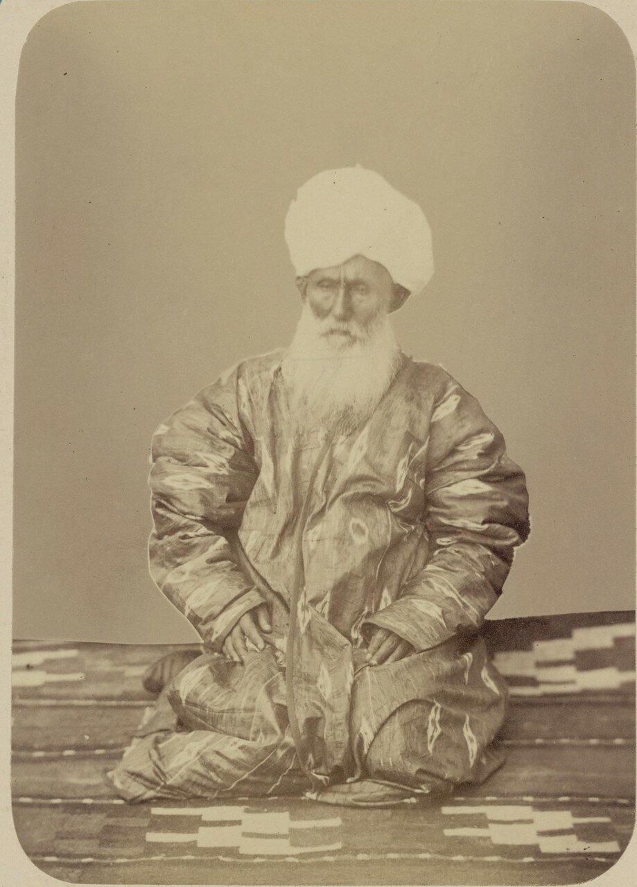 Портреты лиц, приближенных к кокандскому хану. Атабек