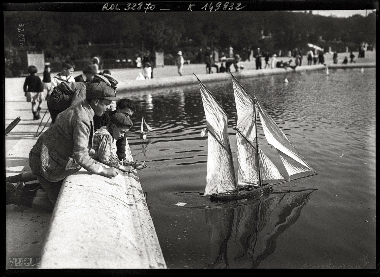 1913. Люксембургский сад