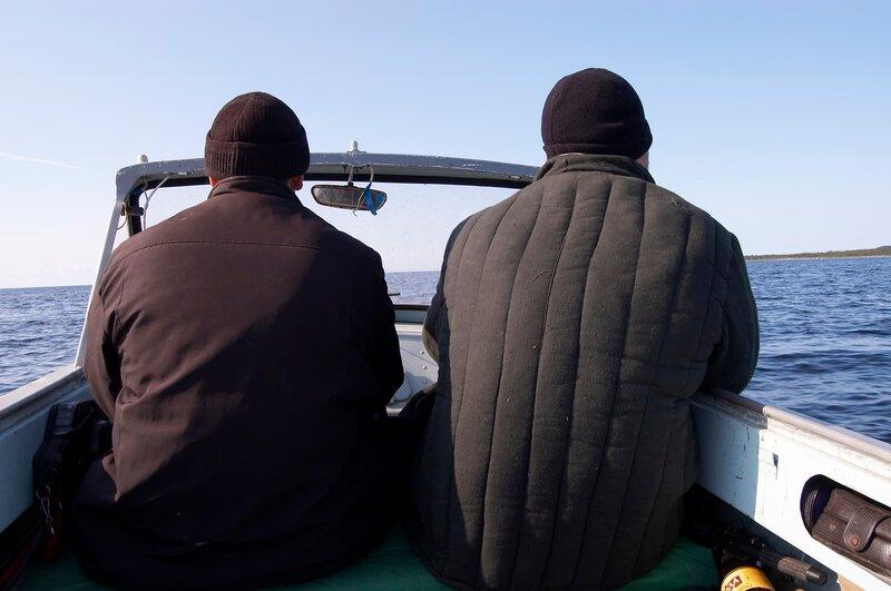 ловить треску на белом море