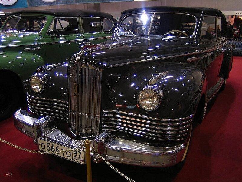 ЗИС-110П - полноприводный фаэтон с открытым кузовом для поездок Хрущева в 1956 году