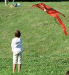 Девочка и рыжий змей
