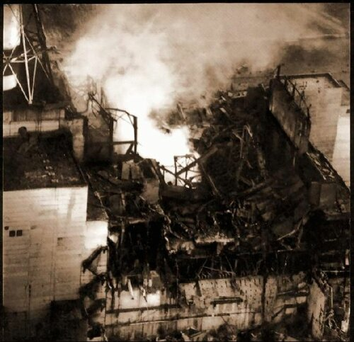 взрыв черныбыльской аэс: