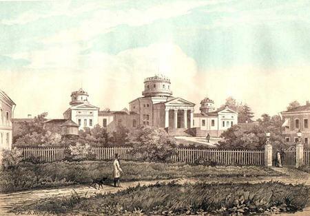 Пулковская обсерватория 1855
