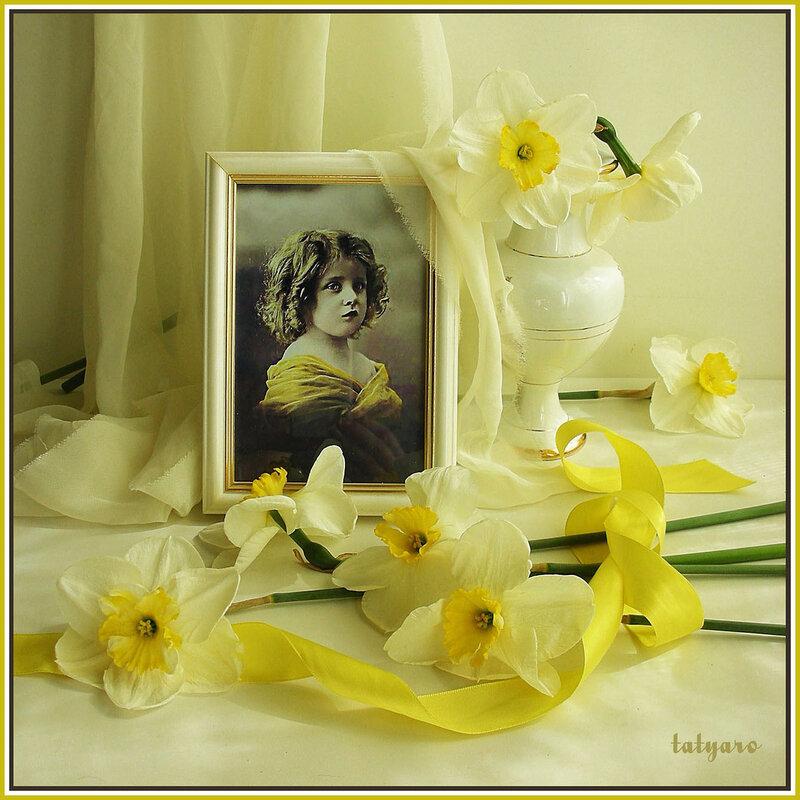 Открытки с жёлтыми розами
