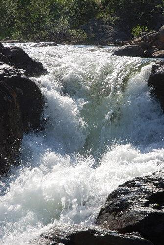 Водопад в Новой Титовке
