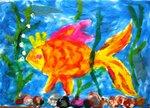 Виноградова Анастасия (рук. Клышко Фрида Борисовна) - Рыбка