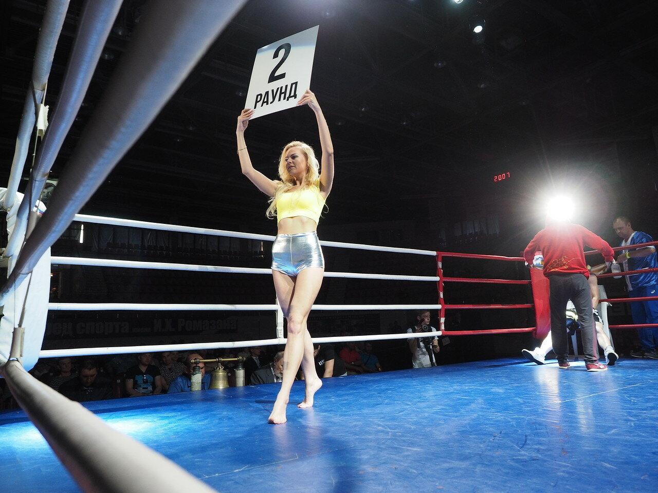 89 Вечер профессионального бокса в Магнитогорске 06.07.2017
