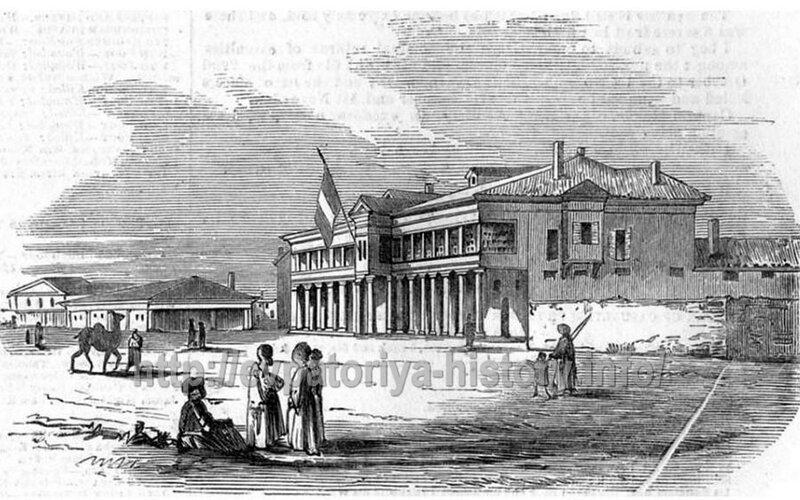 1855 Евпатория. Французская штаб-квартира.jpg