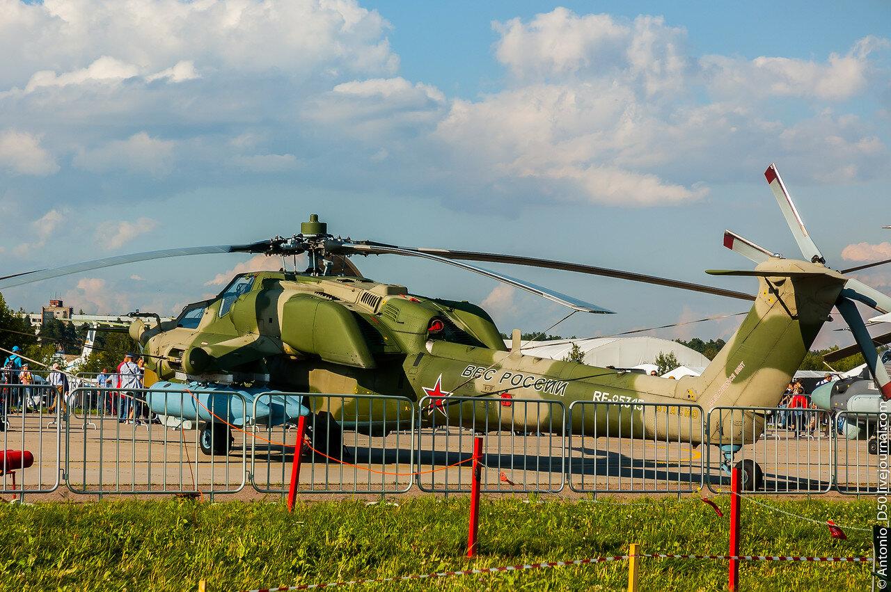 Ми-28Н RF-95345 / 71 на МАКС-2017.