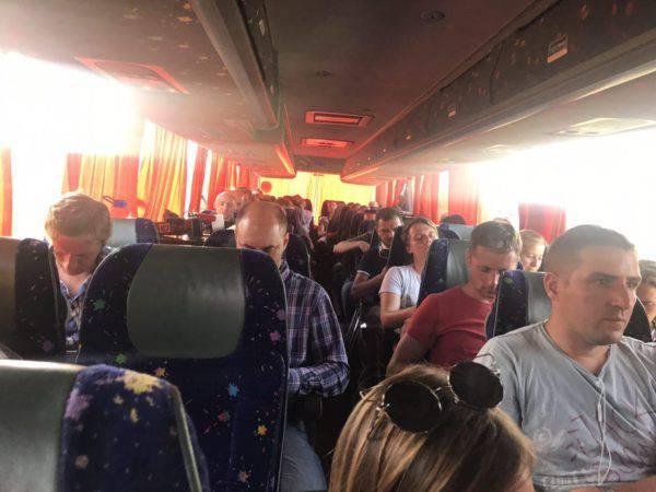 Саакашвили вместе с нардепами и журналистами прибыли в пункт пропуска Шегини (ФОТО) — РНС