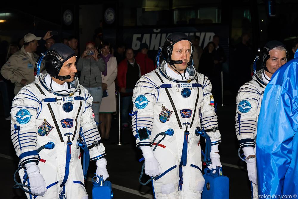 Ракета с космонавтами стартовала на Байконуре. Фото с места событий