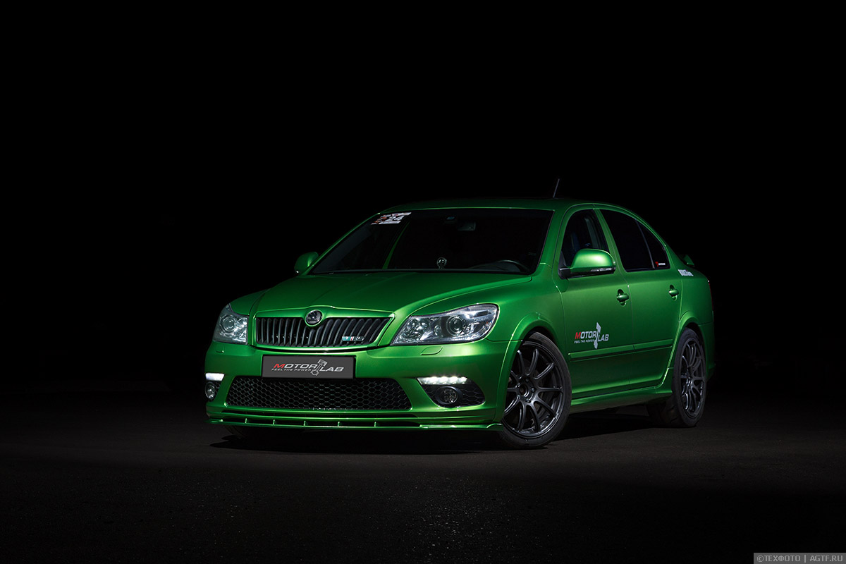 Skoda Octavia RS Green