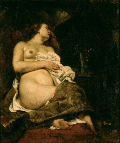 Подборка живописи с темой «Спящая обнаженная красавица»