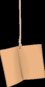 коричневые бирки