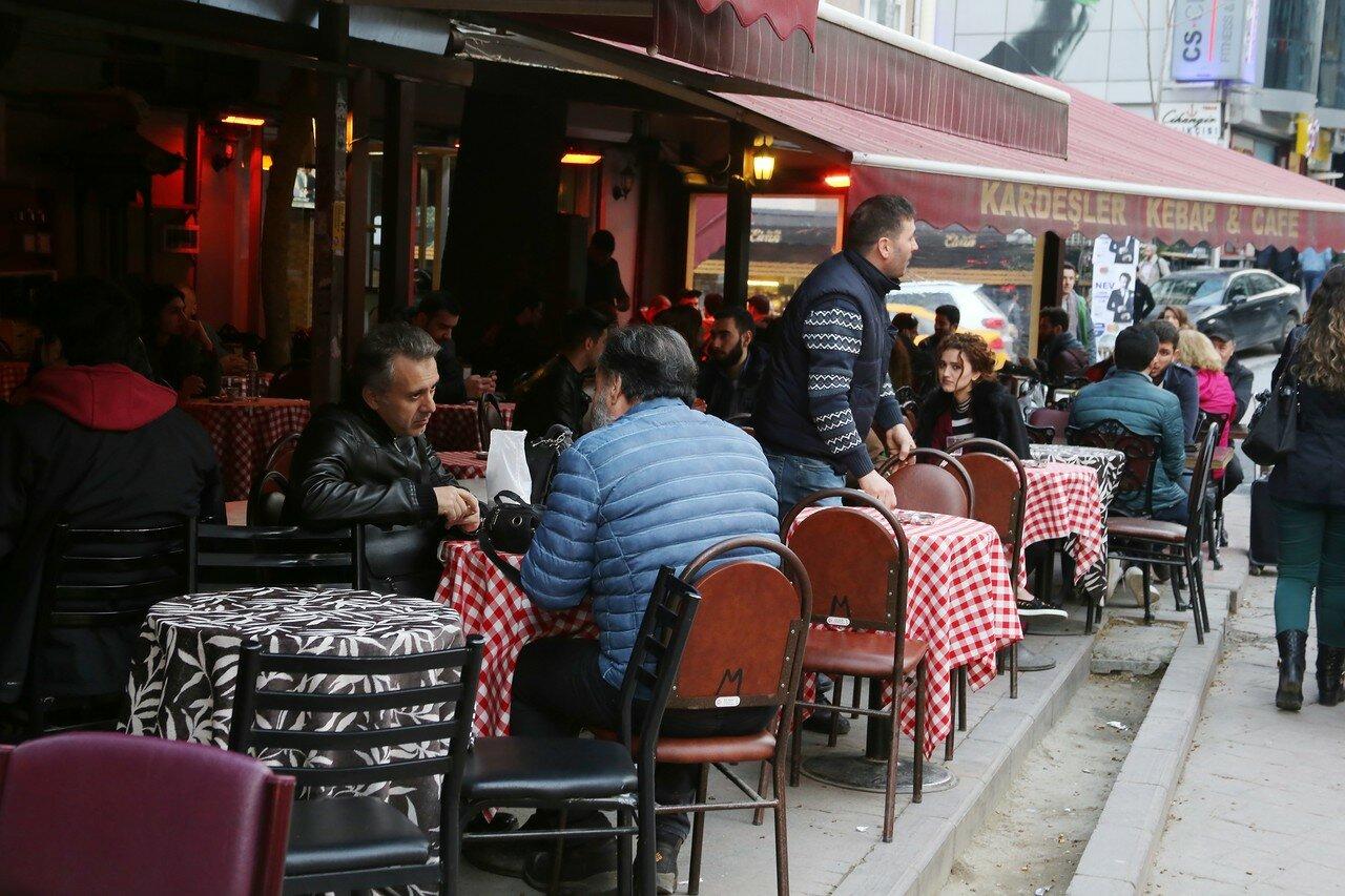 Стамбул, Беоглу, Квартал Кульолу (Kuloğlu Mh). Улица Тактаки (Taktaki Ykş)