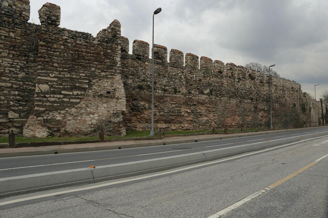 Стамбул. Босфорские стены