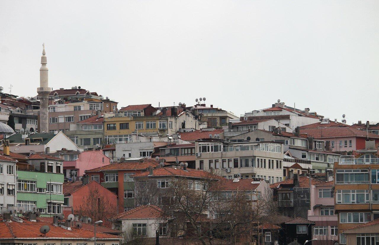 Стамбул. Юскюдар, вид с Босфора