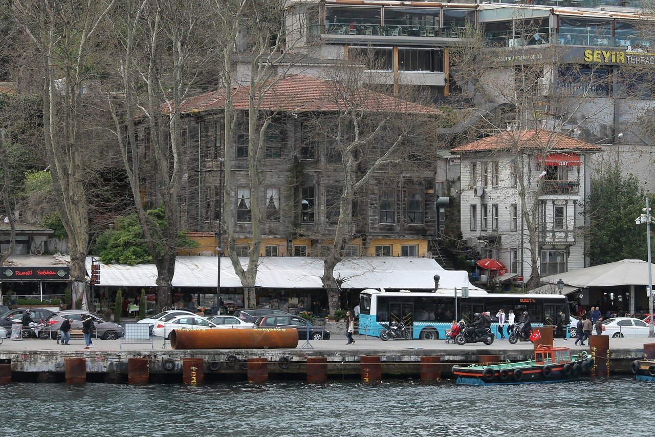 Стамбул. Румелихисар. Вид с Босфора