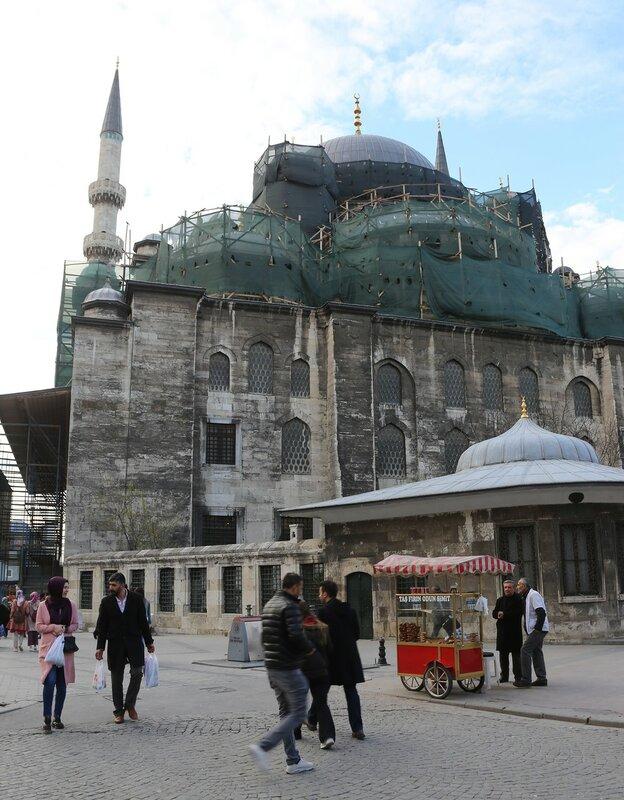 Стамбул. Новая мечеть (Yeni Cami)