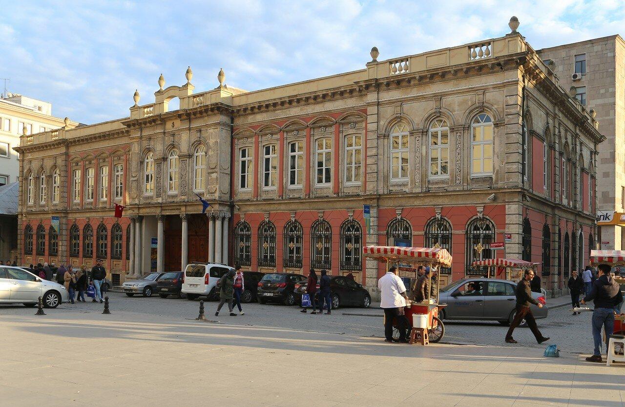 Стамбул. Музей банковского дела (Türkiye İş Bankası Müzesi)