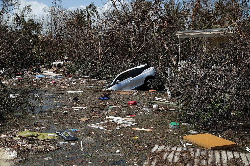 6. Карибы, 12 сентября 2017. (Фото Christophe Ena):