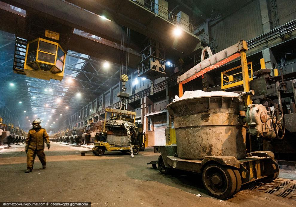 На КрАЗе введен в работу единственный в России корпус для производства алюминия высокой чисто