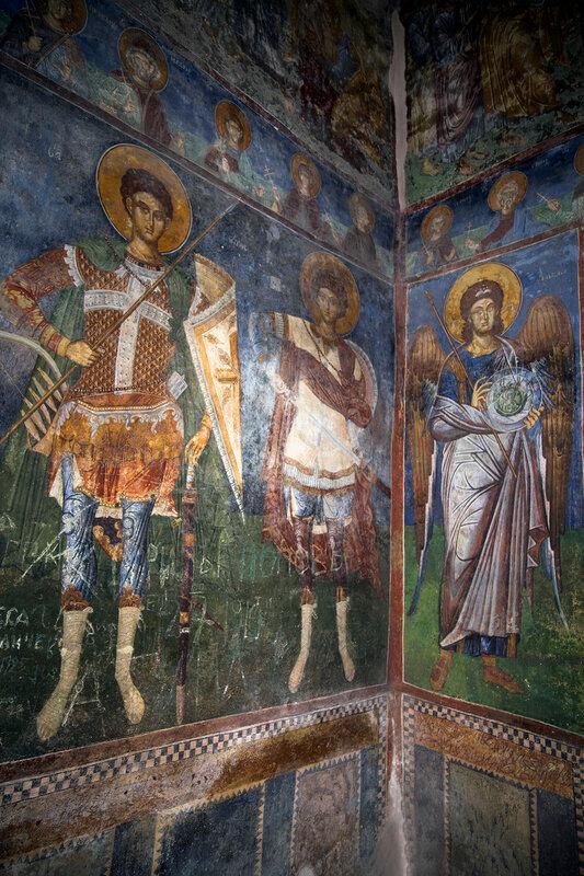 Святые воины и Архангел Михаил