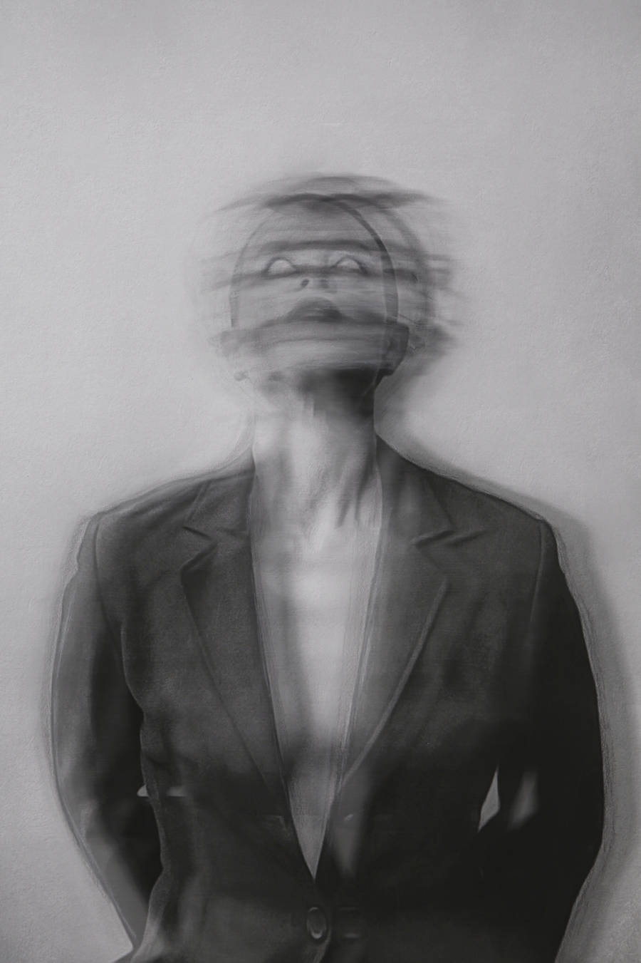 Panic Attack Mixed Media Series by Josephine Cardin