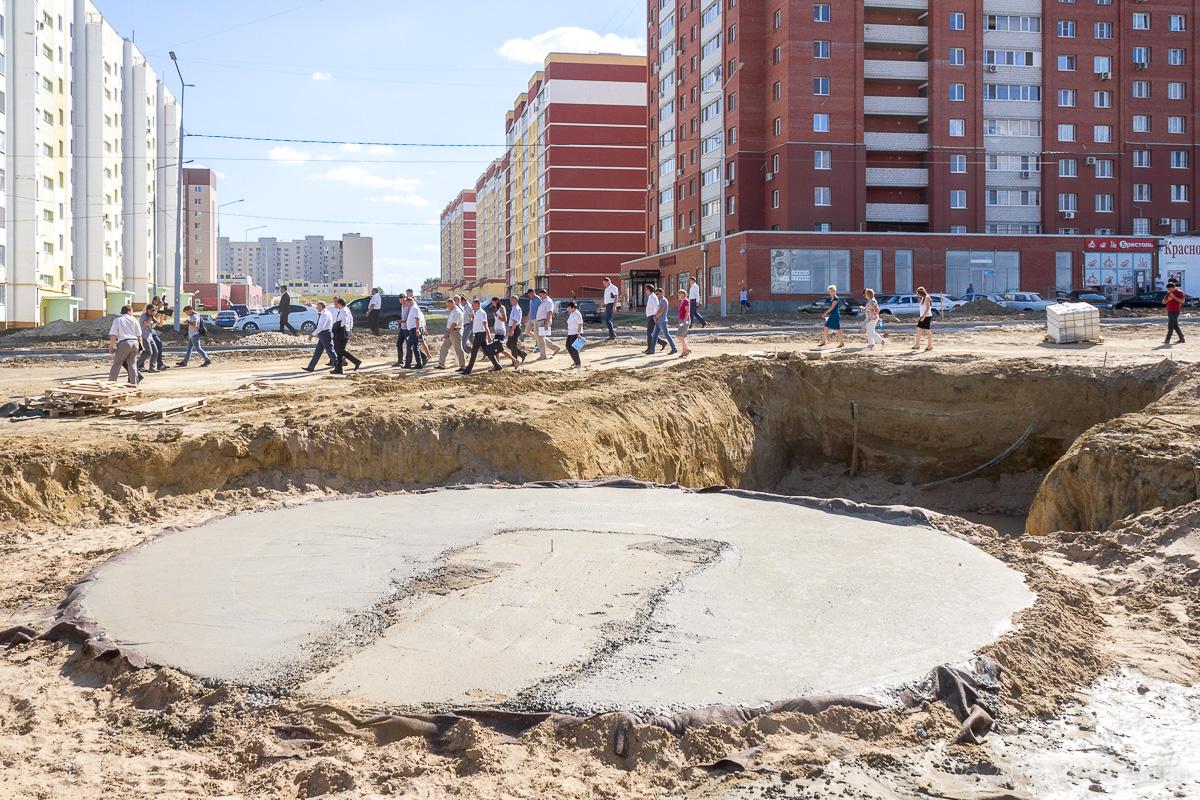 строительство бульвара в Солнечном-2 фото 14