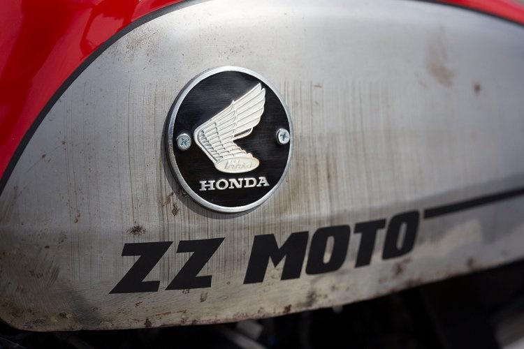 ZZMoto: кастом Honda NX650 Dominator
