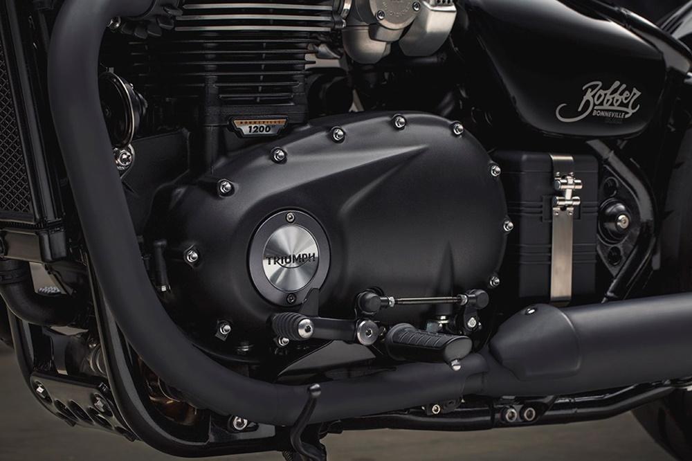 Новый мотоцикл Triumph Bonneville Bobber Black 2018