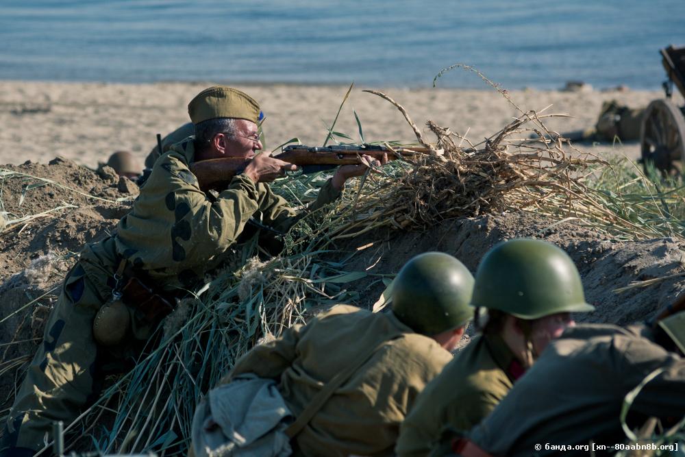 Высадка моряков-североморцев