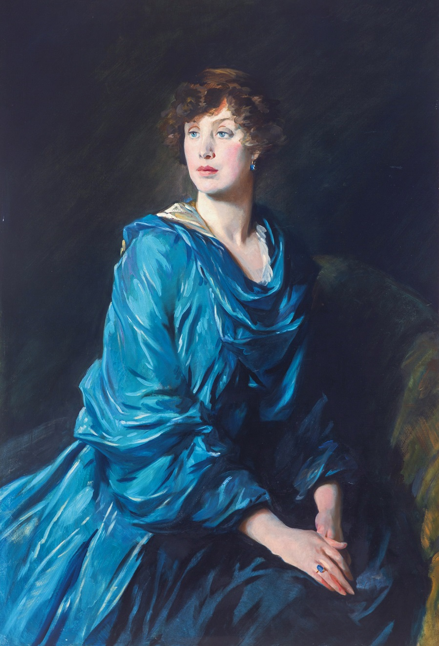 Margaret (Peggy) Crewe-Milnes, Marchioness of Crewe, by Glyn Philpot