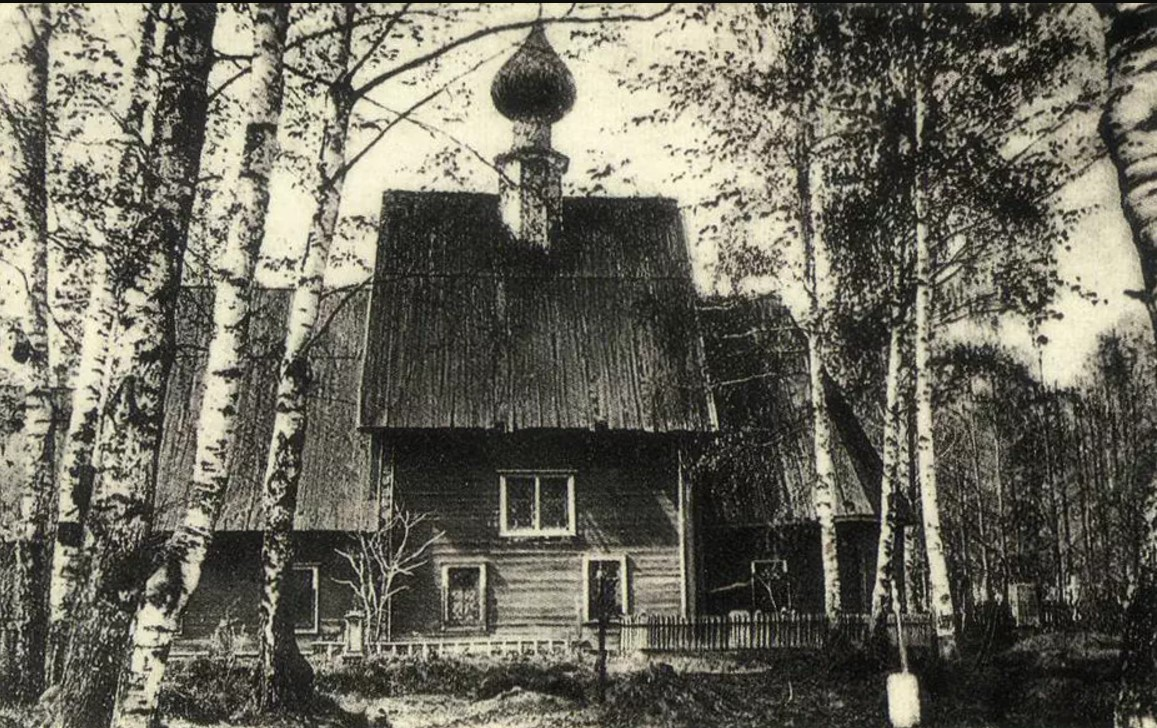 Древняя кладбищенская церковь