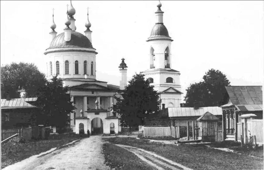 Церковь Ильи Пророка в Воробьёве