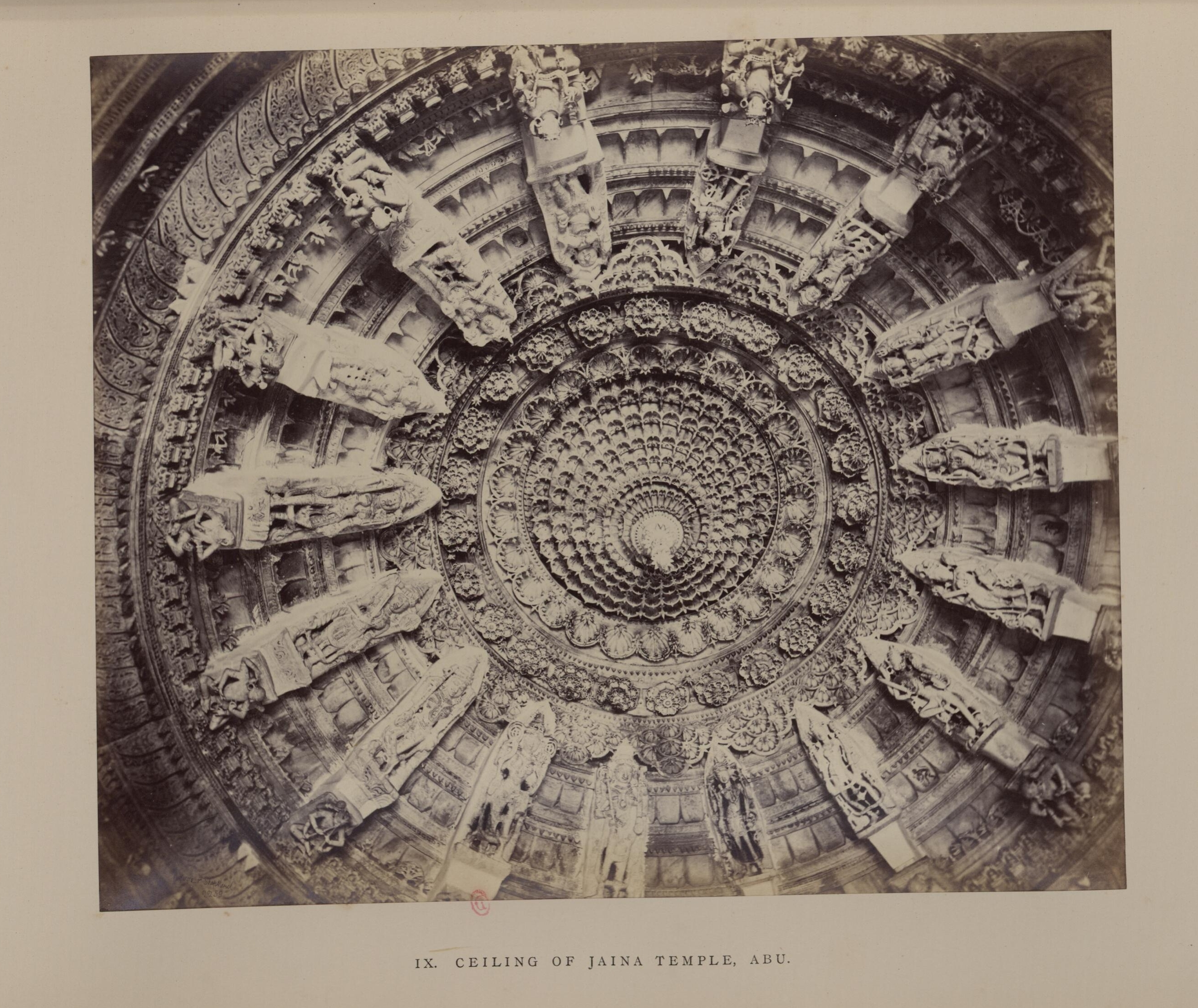 Маунт-Абу. Джайнский храм. Потолок