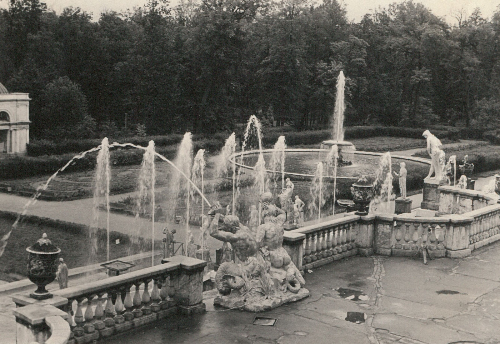 Петергоф. Замковый парк