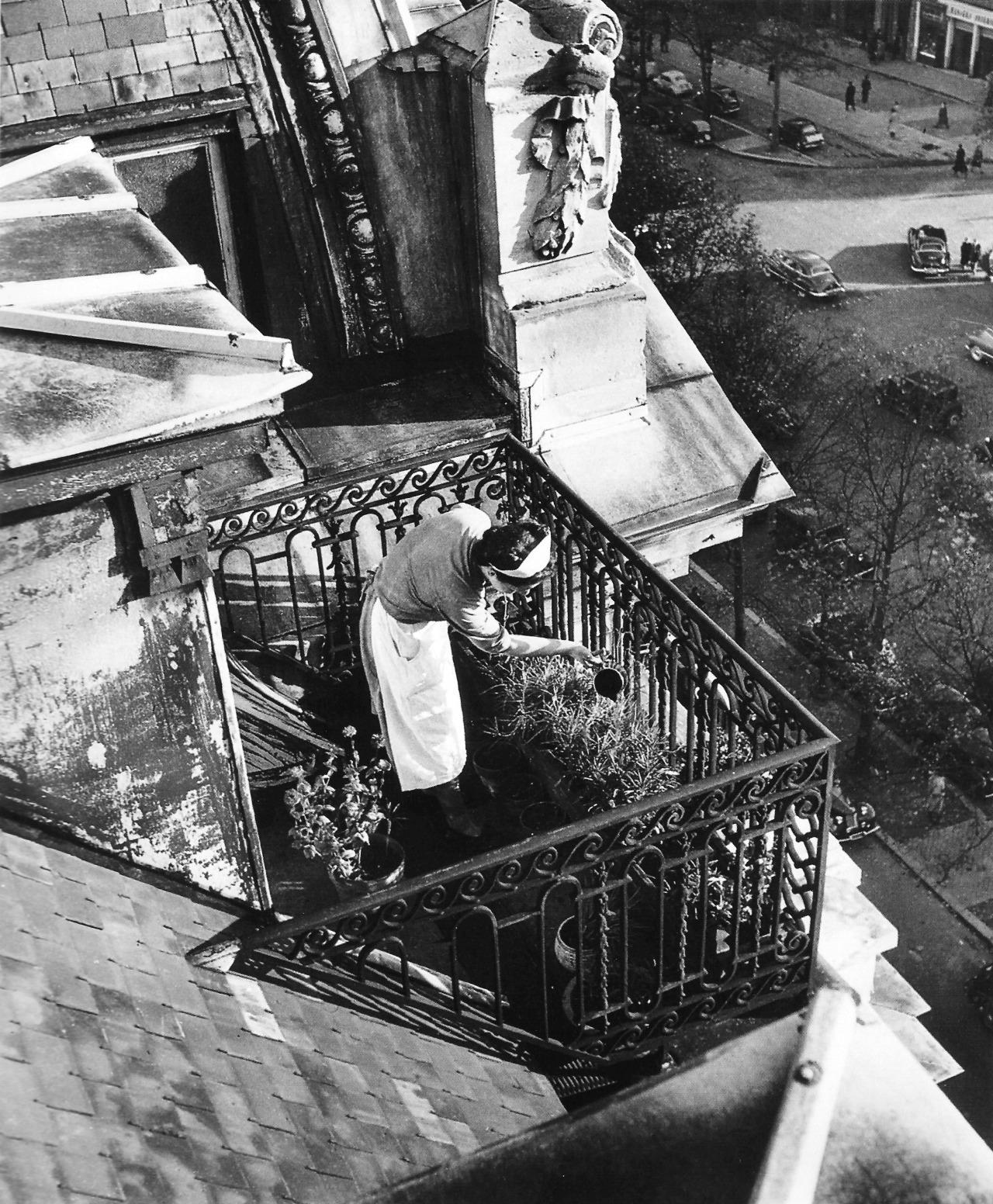 1948. Отель Claridge, Елисейские поля