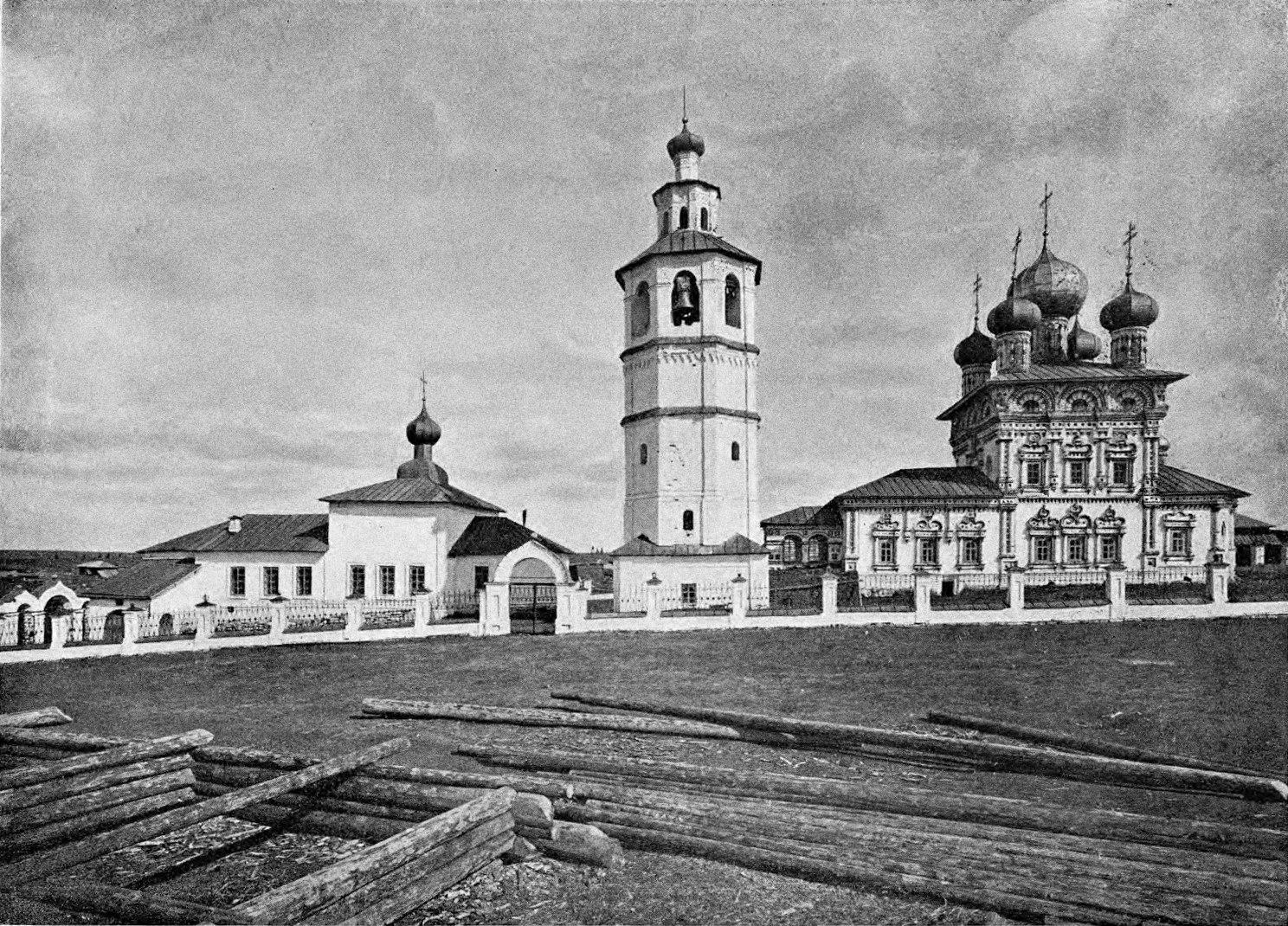 Церковь св. Николая Чудотворца, колокольня и Богоявленская церковь