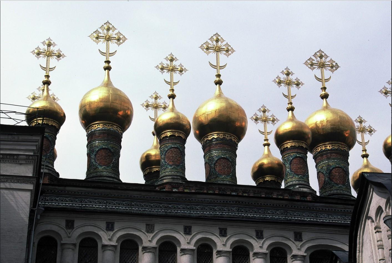 Кремль. Золотые купола