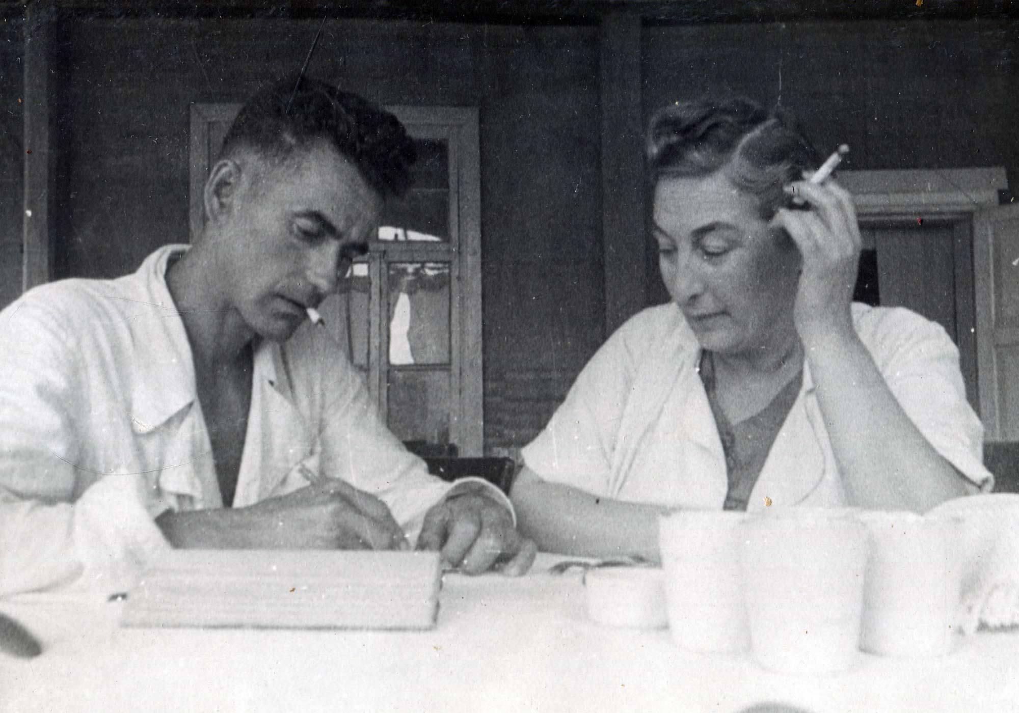 1940-е. Санаторий «Красный Яр»
