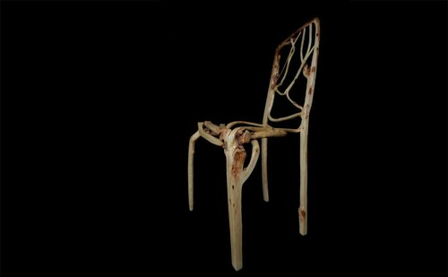 Растущая мебель от Гэвина Манро