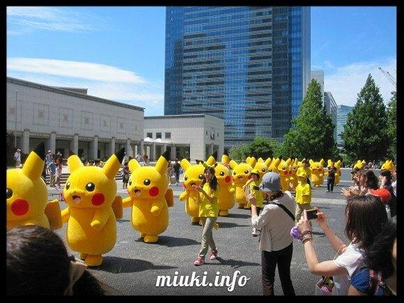 Парад Пикачу в Японии