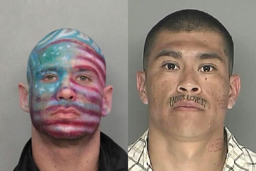 Смешные фотографии уголовников в полицейских участках 0 141b94 3b32110e orig
