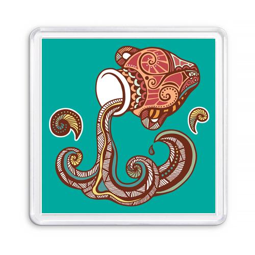 Магнит сувенирный Знак Зодиака Водолей