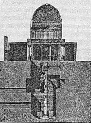Храм-нилометр.