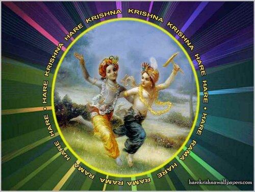 Chant Hare Krishna and be happy!
